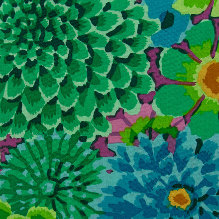 Serene Green Bouquet Pixie Scrub Cap