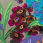 Rainy Day Blooms Poppy Scrub Hat - Image Variant_0