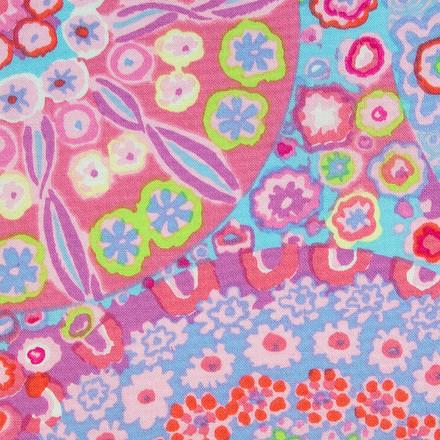 Pink Nebula Poppy Womens Scrub Hat