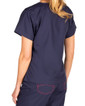 Limited Edition Shelby Scrub Tops - Navy with Strawberry Stitching - Image Variant_2