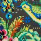 Hummingbird Whisper Poppy Scrub Hats - Image Variant_0