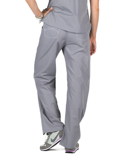 "2XL Tall 34"" - Slate Grey Classic Shelby Scrub Pants"