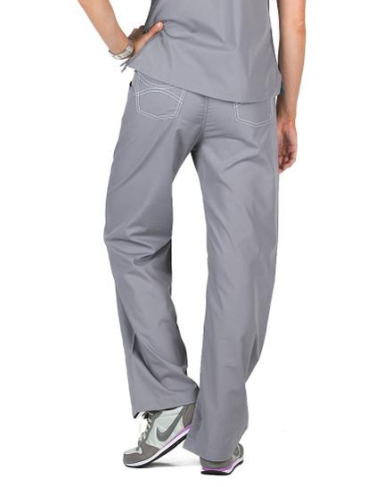 "2XL Tall 34"" - Slate Grey Classic Shelby Scrub Pants"