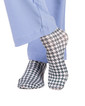Happy Happy Houndstooth Compression Scrubs Socks - Image Variant_1