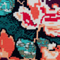 Blurry Blossoms Poppy Surgical Scrub Hat - Image Variant_0