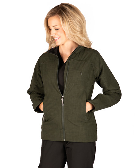 Olive Derbshire Softshell Jacket - FINAL CLEARANCE
