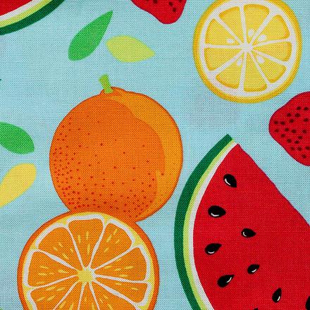 Summertime Fruit Punch Poppy Scrub Hat