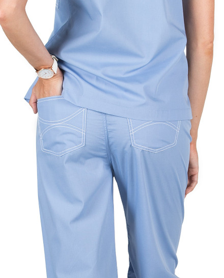Maternity Classic Shelby Scrub Pants - FINAL CLEARANCE