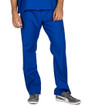 Large Royal Blue David Simple Scrub Pants - Image Variant_1