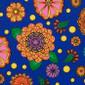 Blue My Mind Poppy Scrub Hat - Image Variant_0