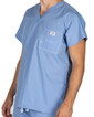 3XL Ceil Blue David Shelby Scrub Top - Image Variant_0
