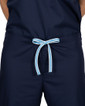 Limited Edition Shelby Scrub Pants - Navy with Ceil Blue Stitching and Ceil Blue/White Tie - Image Variant_0