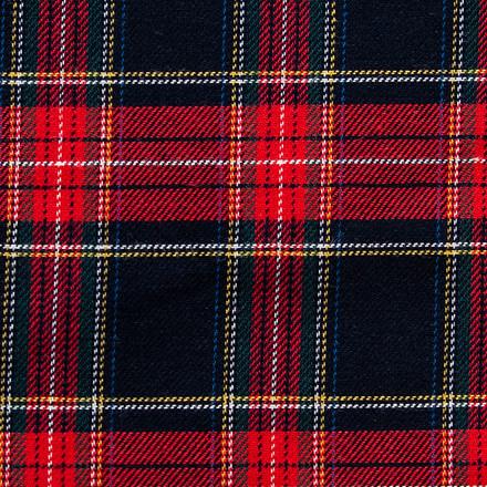 Scottish Plaid Poppy Surgical Caps