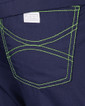 Limited Edition Shelby Scrub Tops - Navy with Lime Green Stitching - Image Variant_1