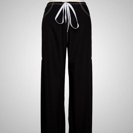 XS Petite Jet Black Urban Shelby Scrub Pants