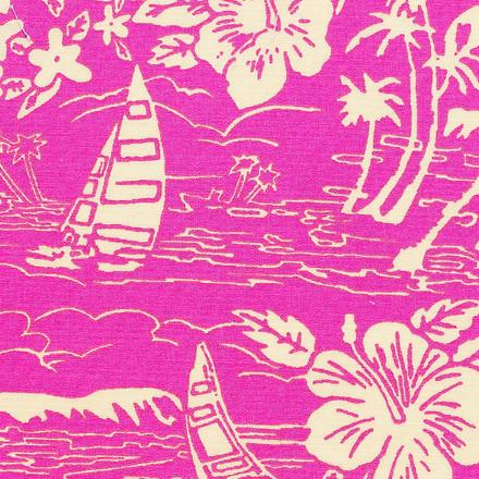 Tropical Pink Pony Scrub Hats