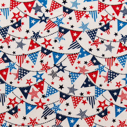 Flags of Freedom Pixie Surgical Caps