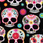 Sweet Sugar Skulls Scrubs Mask - Image Variant_0
