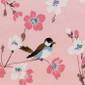 Lovebirds Poppy Scrub Hat - Image Variant_0