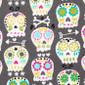 Dia de Los Muertos Poppy Surgical Hats - Image Variant_0
