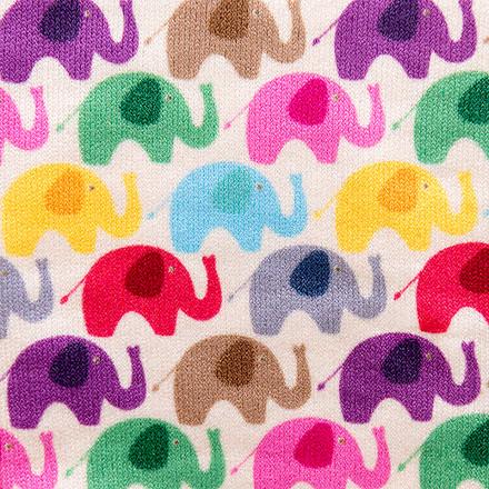 Elephant Elation Compression Scrubs Socks