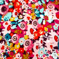 Rosy Pink Pixie Scrub Caps - Image Variant_0