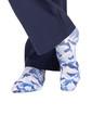 Coastal Blue Camo Compression Scrubs Socks - Image Variant_2