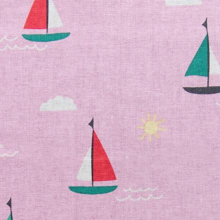 Sail Away Poppy Scrubs Caps