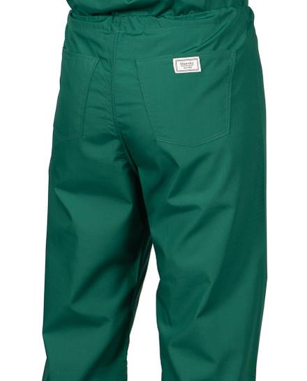 Medium Pine Green Classic Simple Scrub Pant