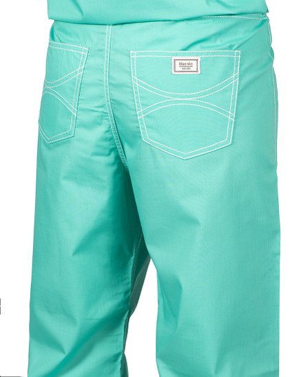 Small Carnegie Green Urban Shelby Scrub Pants