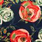 Indigo Flower Fields Pixie Scrub Caps - Image Variant_0