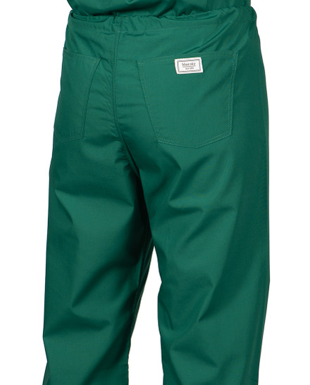 "XS Tall 34"" Pine Green - Classic Simple Scrub Pants"