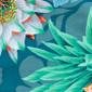 Shaded Jade Pixie Scrub Caps - Image Variant_2