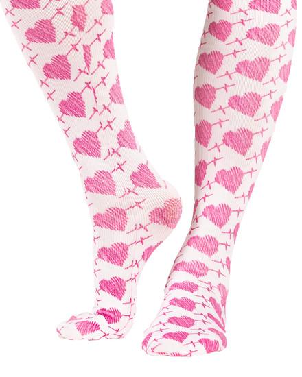 Heartbeat Compression Scrubs Socks