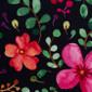 Aquarelle Floral Pixie Scrub Hats - Image Variant_0
