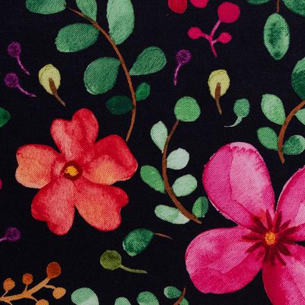 Aquarelle Floral Poppy Scrub Hats