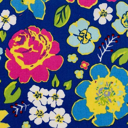 Azul De Persia Poppy Scrub Caps