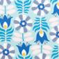 Beyond Blue Blooms Poppy Scrub Caps - Image Variant_0