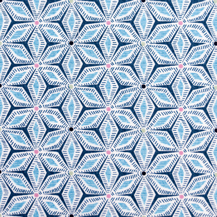 Ice Crystals Poppy Surgical Scrub Cap