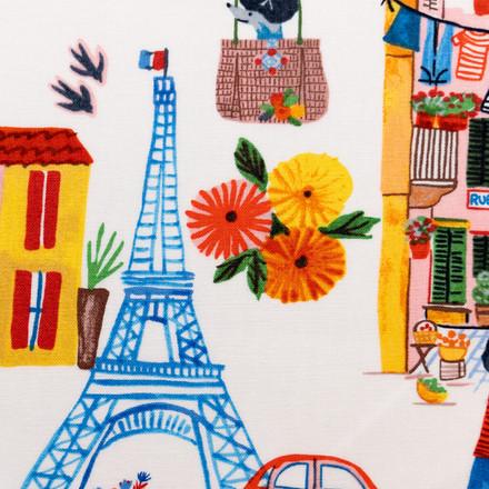 Only In Paris Poppy Scrub Caps