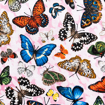 Butterfly Collection Poppy Scrub Cap