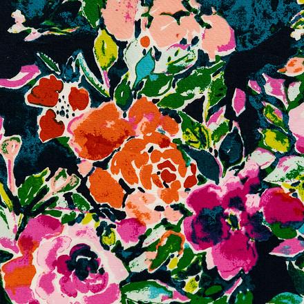 Fancy Florals Pixie Surgical Scrub Cap
