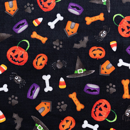 All Hallows Eve Pony Scrub Caps