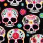 Sweet Sugar Skulls Pixie Scrub Hats - Image Variant_0