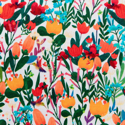 Tulips Of Tang Poppy Surgical Hats