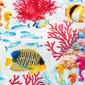 Great Barrier Reef Poppy Scrub Cap - Image Variant_0