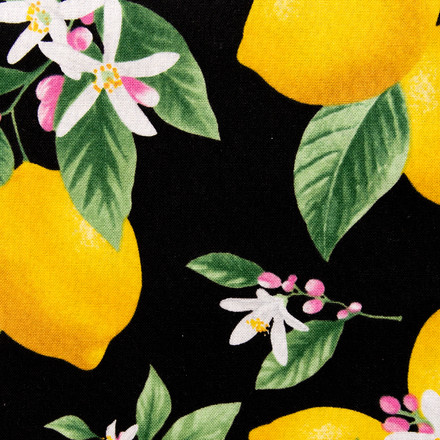 Lemon Love Affair Poppy Surgical Hat