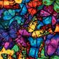 Rainbow Butterflies Pixie Surgical Cap - Image Variant_0