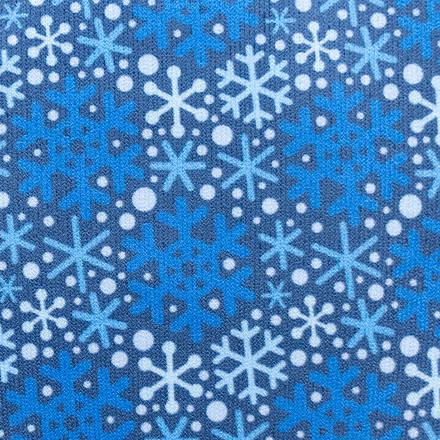 Winter Blues Compression Scrubs Socks