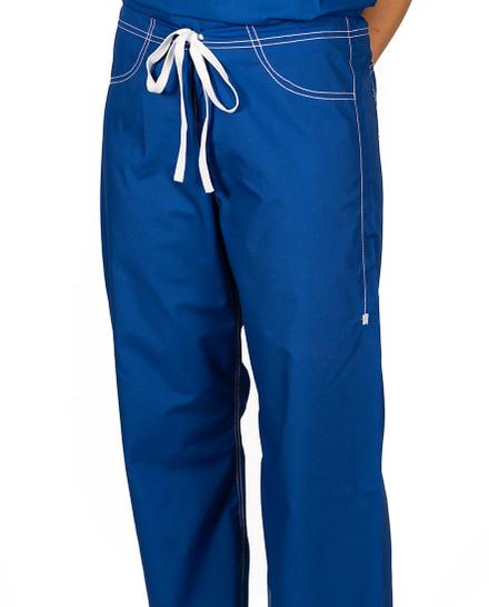 XS Royal Blue Urban Shelby Scrub Pants